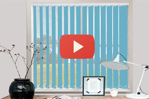 Video thực tế sử dụng Rèm lá dọc tại Rèm Cửa Hà Nội