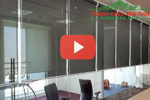 Video rèm cuốn kéo tay sử dụng dễ dàng tại Rèm cửa Hà Nội