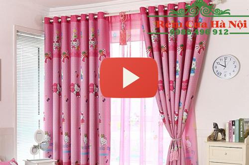 Video rèm vải chất liệu cản nắng cản sáng tại Rèm Cửa Hà Nội