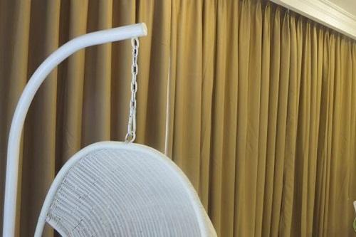 Lắp đặt rèm vải cho nhà chị Hiền tại ngõ 425 Nguyễn Khang
