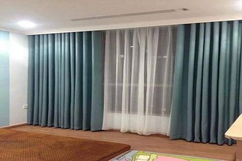 Lắp đặt rèm vải 2 lớp nhà cô Hải 136 Hồ Tùng Mậu
