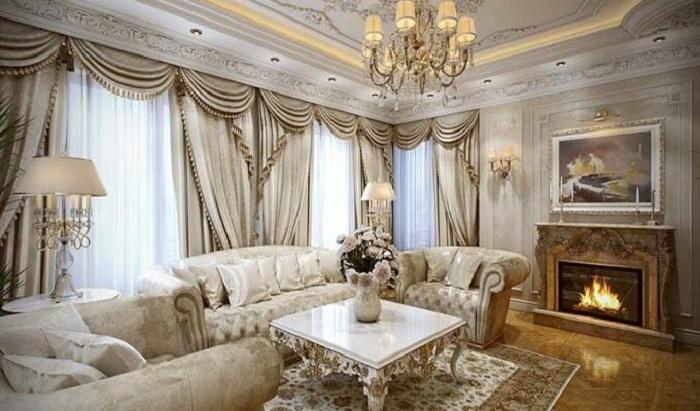 7 Loại rèm cửa đẹp mê hồn cho phòng khách thêm sang trọng