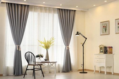 Rèm cửa đẹp giá rẻ khu vực Hoàn Kiếm, Xem mẫu Rèm tại nhà