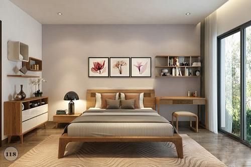 5 phong cách thiết kế phòng ngủ kết hợp Rèm cửa được ưa chuộng 2O2O