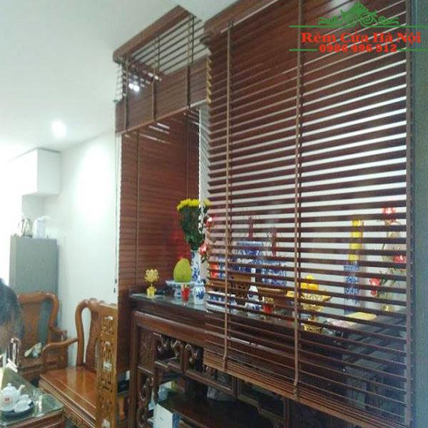 Rèm gỗ che bàn thờ GPT02