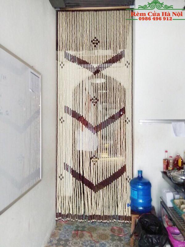 Rèm hạt gỗ HG07