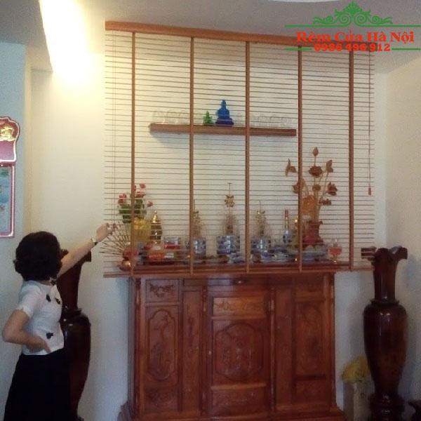 Rèm gỗ che bàn thờ GPT04