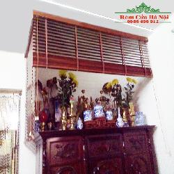 Rèm gỗ che bàn thờ GPT06