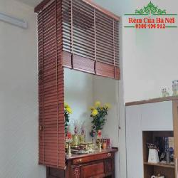 Rèm gỗ che bàn thờ GPT05