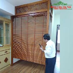 Rèm gỗ che bàn thờ GPT03