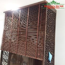 Rèm gỗ che bàn thờ GPT07