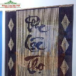 Rèm hạt gỗ che bàn thờ HPT08