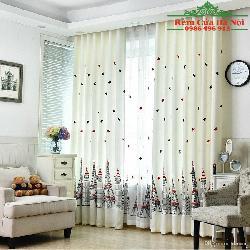 Rèm vải phòng bé TE01